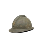 FRENCH ADRIAN HELMET WWII-collectable-Mitchells Wholesale Supplies