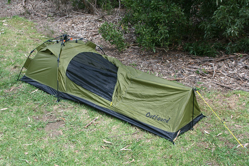 QUICK BIVY & QUICK BIVY - OUTBOUND : CAMPING-SHELTER : Mitchells Wholesale Supplies