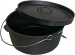 9Qrt CAMP OVEN LIP LID-to cook in-Mitchells Wholesale Supplies